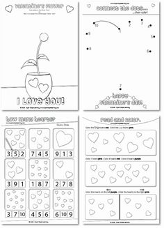 1000+ images about Valentine's Day Worksheets/Printables on ...
