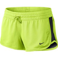 Nike Gym Reversible Shorts Yellow ($25) ❤ liked on Polyvore featuring activewear, activewear shorts, shorts, bottoms, athletic, nike, athletic sportswear, nike activewear and nike sportswear