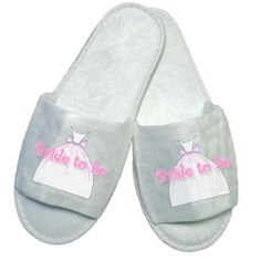 £5.50 Bride to be Dress Slippers