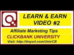 ClickBank University # 2 Affiliate marketing Tutorial… – Gurus hiding the secrets Learn Earn, Do You Believe, Marketing Tools, Affiliate Marketing, How To Make Money, University, Learning, Tips, Youtube