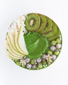Likes, 97 Comments - vegan Lactose Free Smoothies, Yummy Smoothies, Happy Weekend, Kiwi, Avocado Toast, Allergies, Acai Bowl, Pear, Canning
