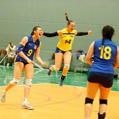 Team Sweden scoring at the qualifier for the 2014 CEV U19 Volleyball European Championship - Women