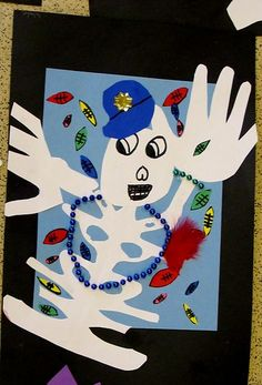 Name Skeletons: Art for Dia de Los Muertos Fall Crafts, Halloween Crafts, Crafts To Make, Halloween Decorations, Projects For Kids, Art Projects, Hispanic Art, Human Body Art, 5th Grade Art