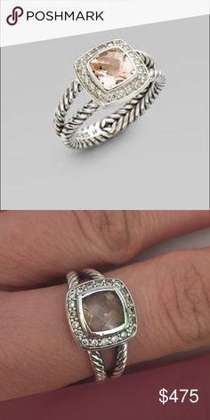 David Yurman Ring - size 5 light pink David Yurman Ring - size 5 - light pink David Yurman Jewelry Rings