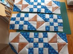 Railroad crossing quilt block pattern and tutorial from Ludlow Quilt and Sew