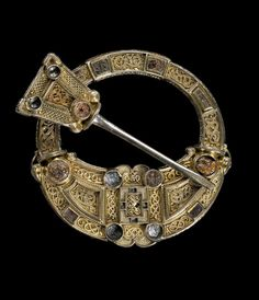 This Stunning Brooch Was Found At Hunterston, Ayrshire During The Made  About It Is A Highly Accomplished Casting Of Silver, Richly Mounted With  Gold, ...