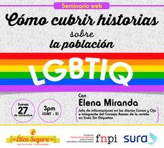 Conversemos sobre los retos de informar, investigar, denunciar y explicar la problemática y los logros de la población lesbiana, gay, bisexual, transexual, intersexual y queer --> http://www.fnpi.org/noticias/noticia/articulo/seminario-web-como-cubrir-historias-sobre-la-poblacion-lgbtiq/