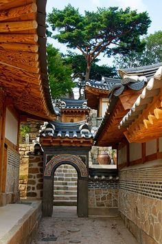 Seokpajeong Villa, Seoul || By Robert Koehler (Historic Korean village,) South Korea