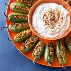 Picadillo Poppers - this look so delicious! More finger food ideas: http://www.bhg.com/holidays/#page=1