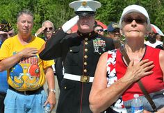 Several state and local dignitaries and veterans were on hand as West Virginia's new veterans cemetery was dedicated at a Memorial Day ceremony.