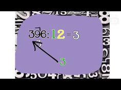 Dělení dvojciferným číslem - YouTube Matematika, matika, návod Youtube, Clock, Watch, Clocks, Youtubers, Youtube Movies
