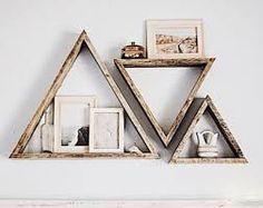 Resultado de imagen de triangle shelf