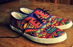 painted sneakers - Google Search