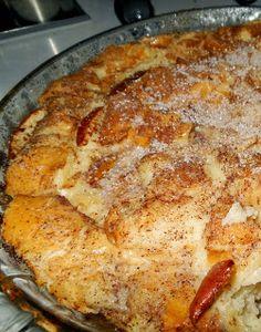 Torta rabanada com maçã