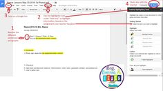How to highlight/annotate online texts using Google Drive Teacher Comments, Used Tools, Close Reading, Google Drive, Middle School, Highlight, Texts, Teaching, Teaching High Schools