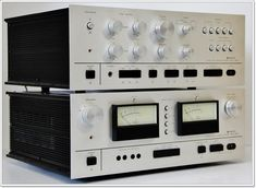 OTTO(SANYO) DCP-3001 Power Amp and DCC-3001 PreAmp - 197x