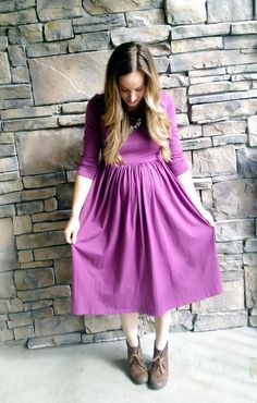 I have been dreaming up maternity patterns for the last few weeks, but none of them have really inspired me. I couldn't find any tutorials or patterns I liked either. I also have a wedding co…