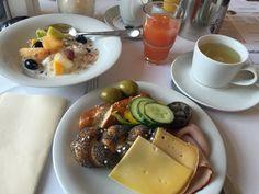 Frühstück im Staatsbad Bad Brückenau