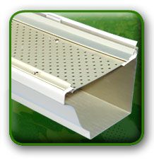 Leaf Relief // Your Gutter Protection Solution- Made by ply-gem.  Keeps debris out of your gutters