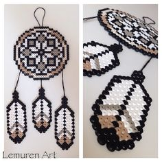 Dreamcatcher perler beads by lemurenart