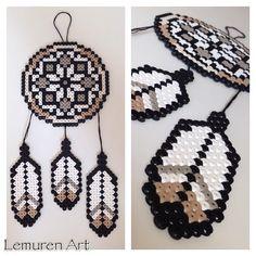 Dreamcatcher perler beads by lemurenart
