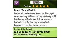 Doctor Michael Alvarez Saved my MarriageI never took my habitual snoring seriously until...
