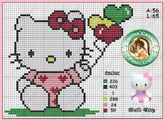 Magic dots: Hello Kitty Graphics.