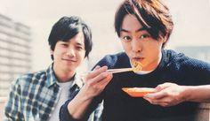 Sho and Nino from ARASHI