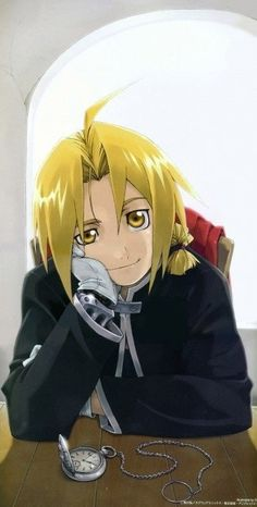 Edward Elric - *fangirl squels and dies*