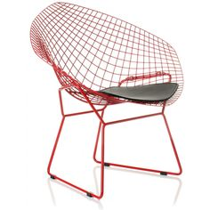 Buy Harry Bertoia Style Coloured Diamond Chair with FREE UK delivery. Swivel UK supply the highest quality reproduction furniture to buy online. Harry Bertoia, Dining Chairs, Lounge Chairs, Colored Diamonds, Icon Design, Furniture Design, New Homes, Reproduction Furniture