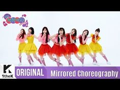 [Mirrored] OH MY GIRL(오마이걸) _'Coloring Book' Choreography(컬러링북 거울모드 안무영상)_1theK Dance Cover Contest - YouTube