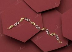 Gold Bracelet For Girl, Gold Bracelet Indian, Silver Bracelets For Women, Gold Bracelets, Chevron Bracelet, Bridal Bracelet, Bracelet Set, Gold Chain Design, Gold Ring Designs