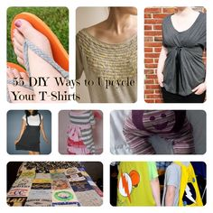 55 DIY Ways to Upcycle Your T-Shirts