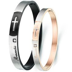 Flongo 2pc Bracelet Acier Inoxydable Zircon Romantic Coup... https://www.amazon.fr/dp/B01DPEYO4K/ref=cm_sw_r_pi_dp_U27zxbCM1RRC2
