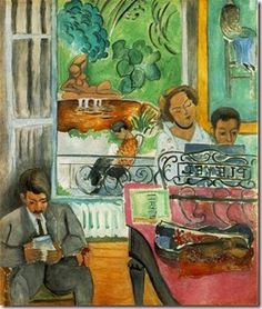8 Artistic Styles of Matisse. The Music Lesson by Henri Matisse, 1917 Henri Matisse, Matisse Kunst, Matisse Art, Pablo Picasso, Magritte, Matisse Paintings, Barnes Foundation, Post Impressionism, Renoir