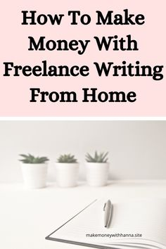 how to make money with freelance writing from home earning $10000 monthly with no experience needed.Freelance writing tips to make more money #freelancewriting #freelance #workfromhome #earnonline Make Money Fast, Make Money From Home, Make Money Online, Freelance Writing Jobs, Legitimate Work From Home, Work From Home Tips, Online Earning, How To Become, How To Make
