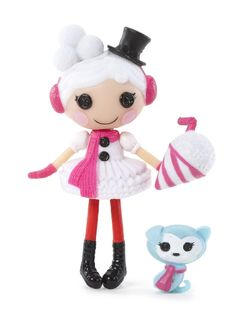 Boneca Mini Lalaloopsy Winter Snowflake - R$ 49,00 no MercadoLivre