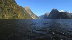 Fiordland from the Water. Video by Five Eyes Films.