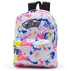 The Realm Backpack is a cotton backpack with polyester trim. Pretty Backpacks, Cute Mini Backpacks, Girl Backpacks, School Backpacks, Leather Backpacks, Leather Bags, Vans Backpack, Backpack Bags, Messenger Bags