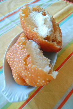 Banh Tieu with Ice Cream