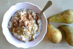 Brązowy ryż na mleku roślinnym