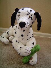 Ravelry: Perfect Pups, Dalmatian pattern by Alan Dart