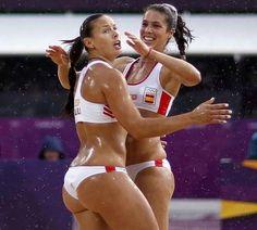 Elsa Baquerizo y Lili Fernández. Voleibol de Playa. España. #Londres2012