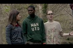 Maddy, Tom, and Shannon. Lol Tom's face, Wolfblood