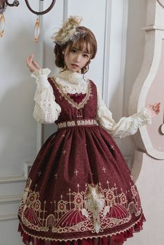 Grove Deer [The Lost Continent - Pardminenan] Lolita Normal Waist JSK