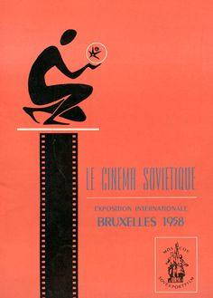 Expo '58: Brochure Soviet Cinema: Le cinéma soviétique