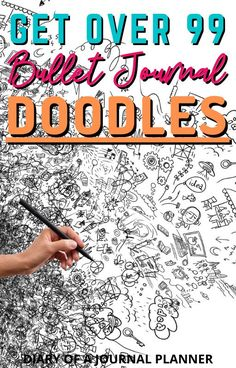 Become a doodling pro with our ultimate ebook containing 40 pages of doodle tutorials, with over 99 bullet journal doodles. #bulletjournal #bullletjournaldoodles #doodling Easy Doodles Drawings, Easy Doodle Art, Cool Doodles, Doodle Ideas, Simple Doodles, Bullet Journal Printables, Bullet Journal Ideas Pages, Journal Pages, Bible Verse Art