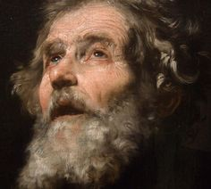 Ribera, St. Joseph, detail, Montreal - Social History of Art