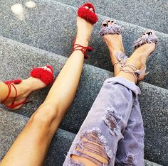 """The """"Wild"""" Summer Sandals That Are Taking Over Instagram via @WhoWhatWear"""