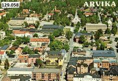 Arvika centrum 1950-tallet